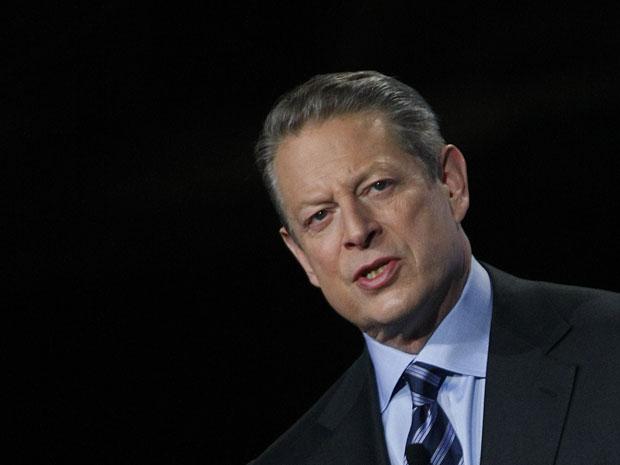 O ex-vice-presidente dos EUA Al Gore em novembro de 2009.