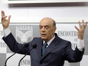José Serra em sabatina na Confederação da Agricultura e Pecuária