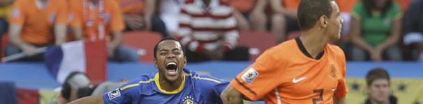 Assista ao vivo a Brasil 1 x 0 Holanda (Reuters)
