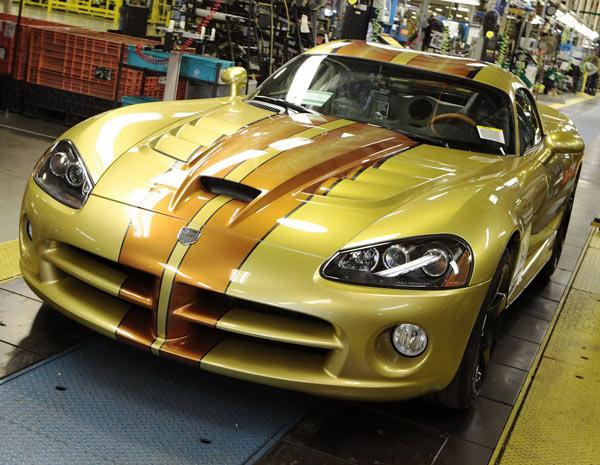 Última unidade do Dodge Viper foi entregue a colecionadores texanos