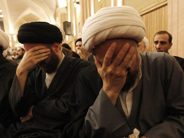anúncio da morte do aiatolá Mohammed Hussein Fadlallah