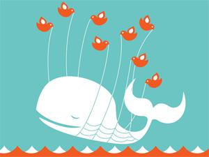 """""""Fail Whale"""" do Twitter é tão comum que já virou personagem conhecido dos usuários da internet."""