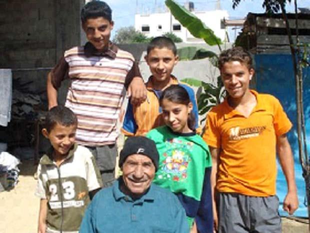 Abu Talal é uma espécie de lenda no sul de Gaza