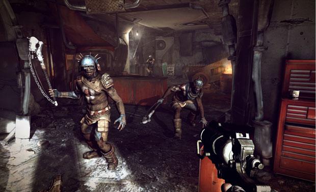 Game de primeira pessoa 'Rage' recebeu o prêmio de melhor game para consoles e o que apresentou melhores gráficos.