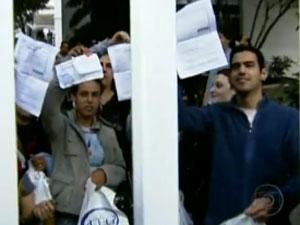 Prova da Caixa foi marcada por tumultos em maio
