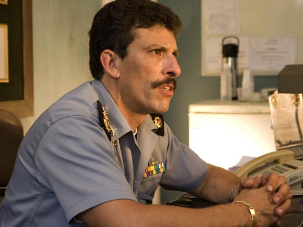 Milhem Cortaz é o coronel Fábio em 'Tropa de elite 2'