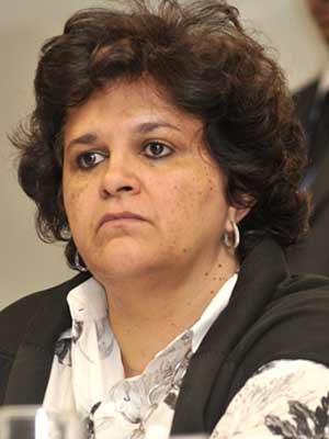 A ministra do Meio Ambiente, Izabela Teixeira, nesta quarta-feira (7)