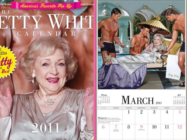 Calendário Betty White