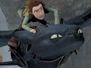 Cena de 'Como treinar seu dragão', mais nova surpresa da DreamWorks