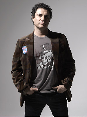 O cantor e compositor Roberto Frejat