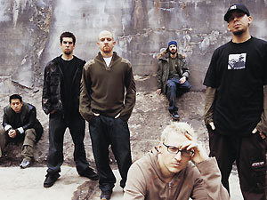 A banda norte-americana Linkin park