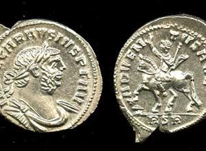 moedas romanas tesouro inglês