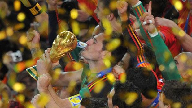 Espanha é a campeã da Copa 2010 (Roberto Schmidt/AFP)