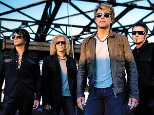 A banda norte-americana Bon Jovi