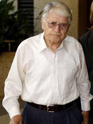 Imagem de abril de 2009 mostra Charles Zentai, suspeito de perseguição e mortes de judeus em Budapeste. Ele está atualmente na Austrália, e é o sexto na lista de Zuroff.