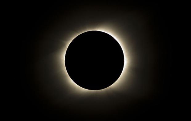 eclipse solar na Ilha de Páscoa