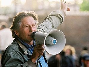 O cineasta Roman Polanski, no set de 'O pianista': libertado de prisão domiciliar.