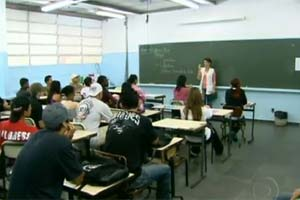 Professor (Foto: Reprodução/TV Globo)