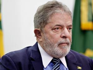 O presidente Lula durante cerimônia de lançamento do edital de concorrência do projeto do Trem de Alta Velocidade (TAV)