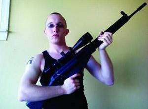 Daniel Cowart em foto retirada da internet em 2008.