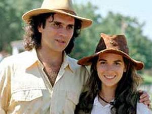 Imagem da novela 'Ana Raio e Zé Trovão'