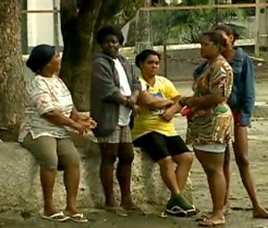 No antigo Batalhão do Exército, em São Gonçalo, estão abrigadas 300 pessoas