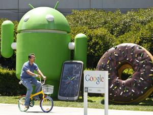 Sede do Google em Mountain View, na Califórnia.