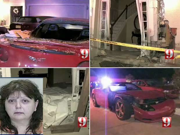 Faith Sarfarazi foi presa acusada de deixar a cena do acidente.