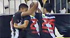 Vasco bate o Atlético-PR (TV Globo)