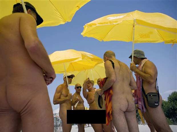 Protesto foi realizado em Vera, que fica próximo a Almeria.