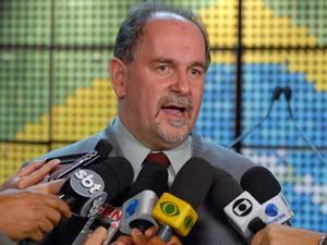 O presidente do Partido dos Trabalhadores, José Eduardo Dutra, em junho