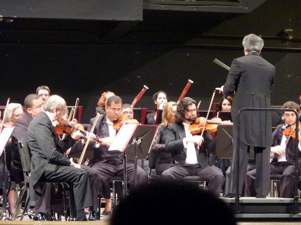 Orquestra Filarmônica de Minas Gerais se apresentou no Cine Teatro Central