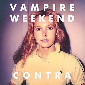 Capa de 'Contra', CD do Vampire Weekend