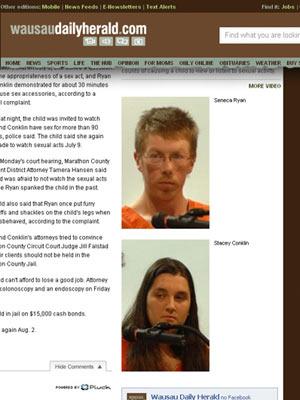 casal de babás preso