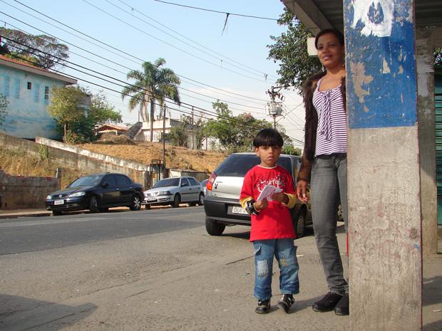 Zumira Rosa levou apenas 5 minutos para pegar ônibus para levar filho a médico