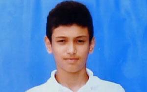Bruce Cristian , adolescente morto com um tiro na cabeça em Fortaleza