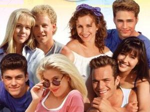 Série Barrados no Baile - anos 90. TV