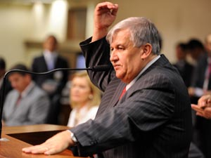 O ex-governador interino do Distrito Federal, Wilson Lima, em abril