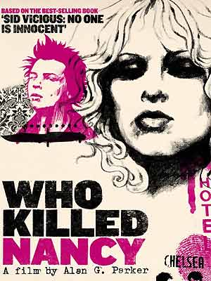 Cartaz do filme 'Who killed Nancy', do diretor Alan G. Parker