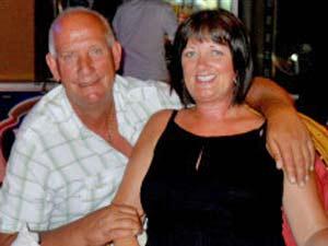 Glenn Hudson e sua esposa, Linda