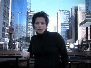 Imagem do vídeo gravado pela campanha