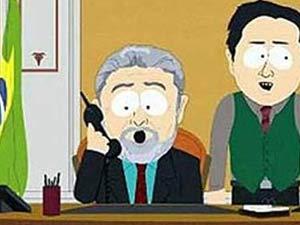 O presidente Lula aparece em episódio do desenho South Park