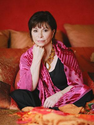 A escritora chilena Isabel Allende