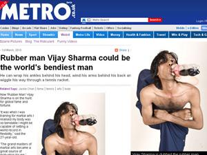 ijay Sharma busca a fama para não trabalhar com o pai