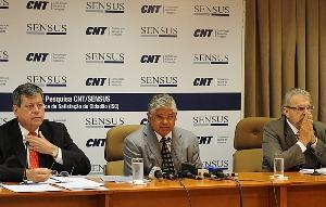 Divulgação dos resultados da pesquisa CNT/Sensus com perspectivas para as eleições de outubro