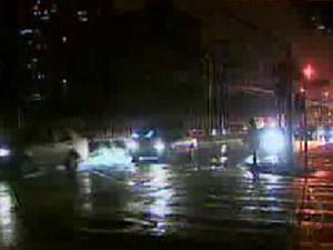 Trânsito ficou complicado na região do acidente, em Curitiba