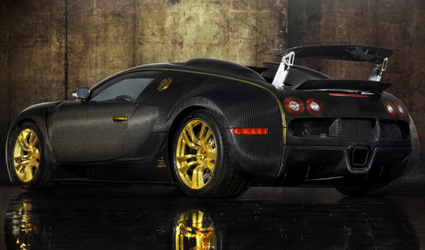 Mansory Bugatti Veyron 16.4 LINEA Vincero d&#39;Oro