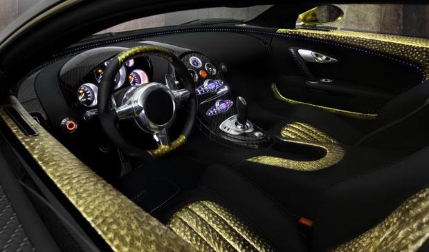 Mansory Bugatti Veyron 16.4 LINEA Vincero d'Oro