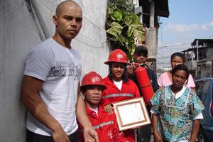 favela brigada incêndio
