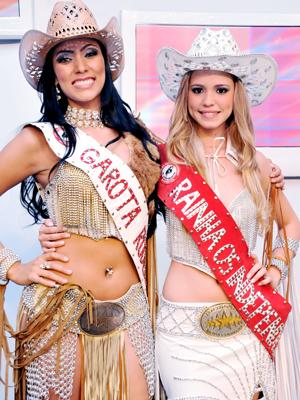 Rainha da Festa do Peão de Barretos e Garota Rodeio Brasil são eleitas